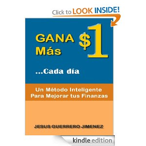 Gana $1 Más Cada Día disponible en Amazon
